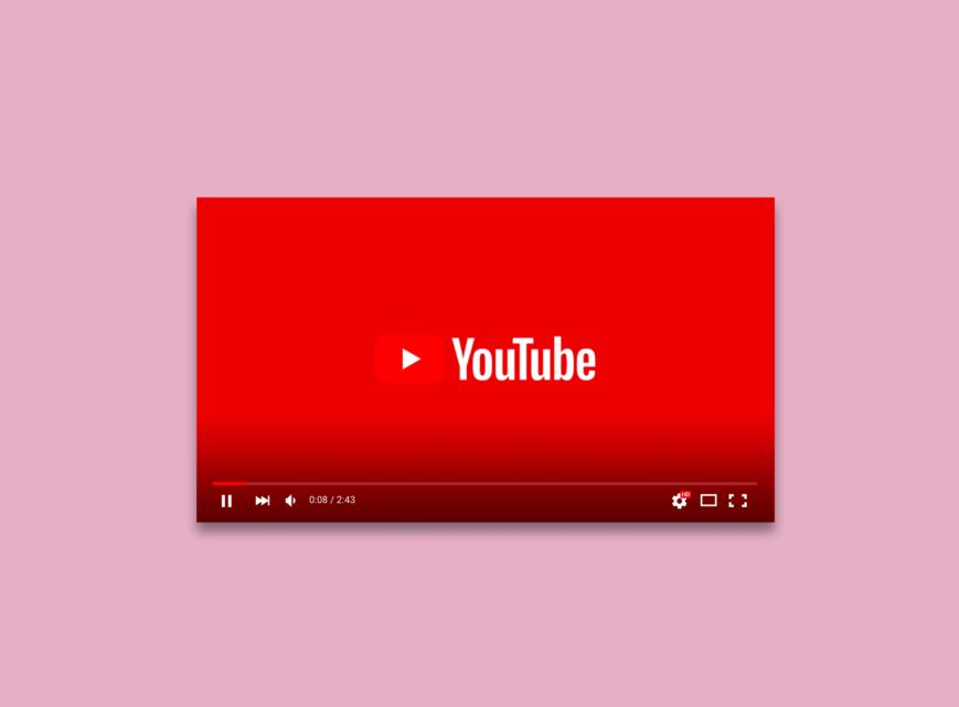 Illustration de stratégie Youtube