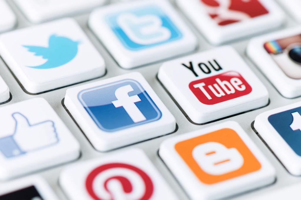 logo des réseaux sociaux pour campagne d'acquisition